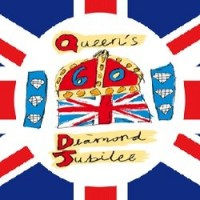 The official Diamond Jubilee flag